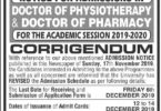 Admission to the University of Liaquat Jamshoro 2020 Last date