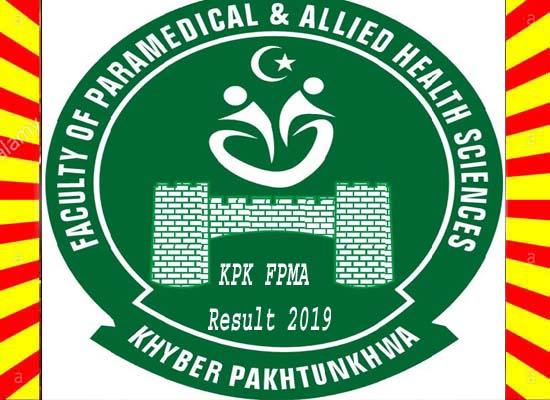 KPK FPMA Result 2019 Online