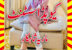 Cupid Assistant Urdu Novel By Maria Shahkar Last Episode