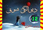 Deewangi E Shouq Urdu Novel By Midhat Jaffery Episode 12