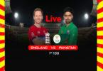 England vs Pakistan 1st T20I Match Live 2020